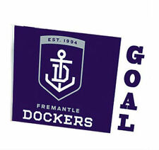 Official AFL Fremantle Dockers Large Flag (NO STICK/FLAG POLE)