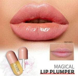 Instant Volumising Lips Care Plumper Repairing Reduce Fine Lines Mask Long 5ml