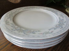 4 Somerset pattern Dinner plates by NL Excel