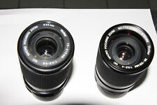 VIVITAR 70-210MM & 35-105MM FOR YASHICA/CONTAX