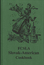 BRAND NEW Slovak American Cookbook Polish Czech Hungarian Father's Day Gift