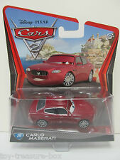 Disney PIXAR Cars 2 CARLO MASERATI Car # 25 - Ages 3+