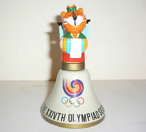 1988 OLYMPIC GAMES SEOUL Original Mascot HOSUNI (WIFE) CERAMIC BELL No1