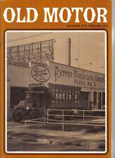 Old Motor Jan-Feb 1973  Vol 7 No 1 AJS Shein ERA R4D Cadillac AEC Railton cars +