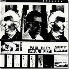 Barrage [Digipak] by The Paul Bley Quintet (CD, Feb-1993, ESP-Disk)