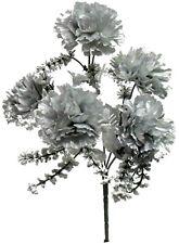 5 Carnations Artificial Silk Flowers Wedding Bouquet Party Centerpieces Fake