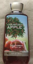 New Bath Body Works County Apple Shea & Vitamine E Shower Gel 10 fl oz