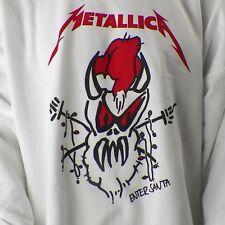 Metallica Enter Santa Xmas 3XL Sweatshirt James Hetfield Lars Ulrich Sandman