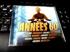 Annees 60 [Universal] CD Johnny Hallyday Brigitte Bardot Claude Francois F Gall