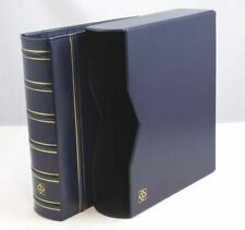 1 Lighthouse Classic VARIO G  Binder and Slipcase-Blue-Free shipping!