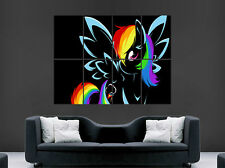 MY LITTLE PONY RAINBOW DASH KIDS GIANT LARGE WALL ART POSTER PICTURE