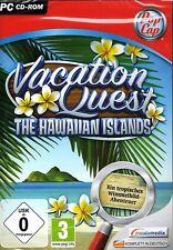 Vacation Quest: The Hawaiian Islands (PC-CD) NEU&OVP Exotisches Wimmelbildspiel