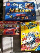 Lernspiele Kinder 3 Stück