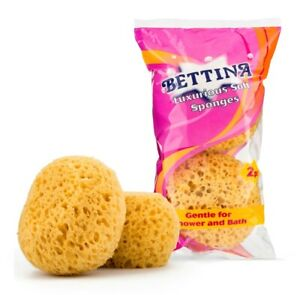 2 Pack Bettina Luxurious Soft Sponges For Bath Or Shower