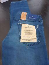 Scotch and Soda Ralston (Regular Delgado) Para Hombre Blue Jeans 34/32 BNWT