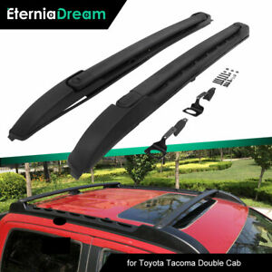 Roof Rack Rails Fit for 2005-2021 Toyota Tacoma Double Cab Cross Bars Crossbars