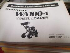 Komatsu heavy equipment parts accessories for wheel loader ebay komatsu wa100 1 wheel loader operation maintenance manual sciox Gallery
