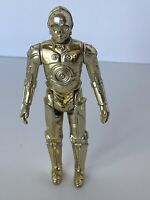 🔥 Vintage Star Wars Action Figure - C-3PO Fixed Limbs First 12 1977 Hong Kong