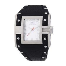 Orologio Watch Clock POLICE Donna Woman Black Nero Pelle Leather