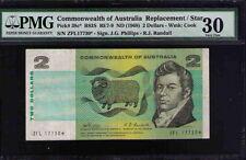 Commonwealth of Australia STAR NOTE Pick#38c* R83S 1968 $2 Phillips R PMG 30 VF