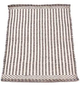 2x3 Ft Indoor Rug Brown Bedroom Door Mat Jute & Wool Rug Woven Mat Modern Carpet