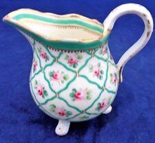 Antique French Porcelain Jug Leboeuf Fabrique de La Reine Sèvres Roses c 1785