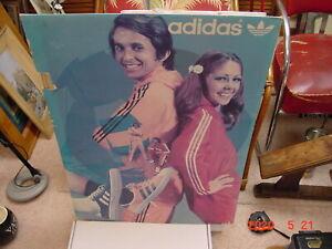 Rare Adidas Poster ... 1970's
