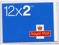 GB 2010 12 x 2nd CLASS CYLINDER W4 BOOKLET ME5b CODE MA10