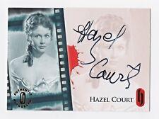 2007-08 Hammer Horror Series One Autographs #HA6 Hazel Court SP/200 Rare