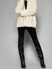 Ted baker faux fur coat women size 2 UK 10