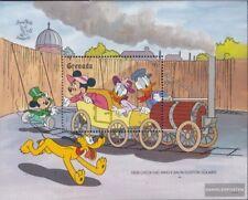 Animation, Cartoons Bhután Bloque 303 Nuevo Con Goma Original 1991 Walt-disney-personajes