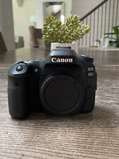 Canon EOS 80D 24.2MP Digital SLR Camera - Black (Body Only) - READ