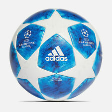 Adidas Uefa Champions League Official Match ball Size 5 Blue/White Brand New!