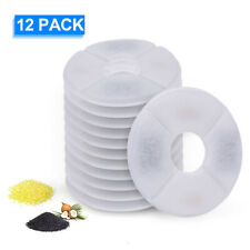 12PCS Cat Water Fountain Filters For Flower Fountain Cat Water Dispenser A0L8
