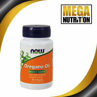 NOW Foods Oregano Oil 90 Softgels | Intestinal Support Anti-Fungal Candida Detox
