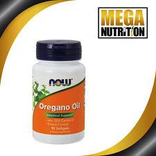 NOW Foods Oregano Oil 90 Softgels   Intestinal Support Anti-Fungal Candida Detox