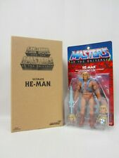 MOTU CLASSICS MASTERS OF THE UNIVERSE SUPER 7 NEW FILMATION ULTIMATE HE-MAN MOC