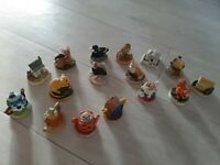 Tetley Tea Folk 16 x Miniature Houses Teapots Animals 1995 1996 1997 (34)