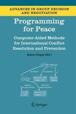 Programming for Peace: Computer-Aided Methods for International Conflict Reso...