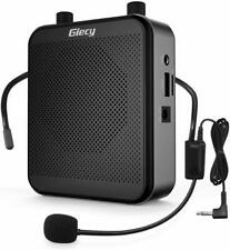 More details for giecy voice amplifier portable with microphone headset 30w rechargeable 2800m...