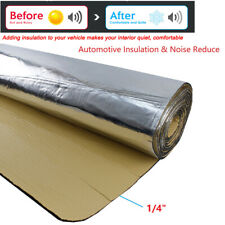 Car Insulation Thermal Sound Deadener Blocking Heat Noise Proofing Mat 24