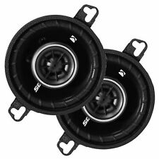 """Kicker 1-PAIR 3.5"""" DS Series 160W Max /40W RMS 2-Way Coaxial Car Speakers"""