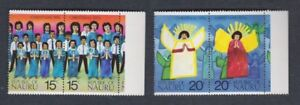 1976 Nauru Christmas SG 155/8 MUH Set