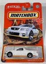 Matchbox 2021 - SINGLES - 2008 Holden VE UTE SSv - #64/100 - S93