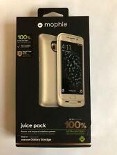 Mophie juice pack for Samsung Galaxy S6 Edge - Gold