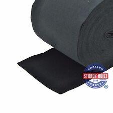 "Boat Trailer 18"" Wide Black Marine Grade Bunk Board Carpet / Running Board"