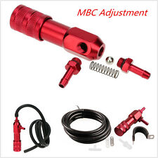 Red Aluminium Alloy MBC Adjustment Manual Boost Controller Polished Racing Parts