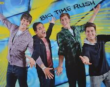 BIG TIME RUSH - A2 Poster (XL - 42 x 55 cm) - James Clippings Fan Sammlung NEU