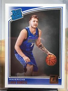 Luca Doncic rookie card .2018 Donruss Rated Rookie Card # 177 Beautiful Card 📈