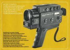 Bolex 564 XL AF Sound Instruction Manual multi-language
